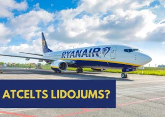 Ryanair lidojuma maiņa un naudas atgriešana.